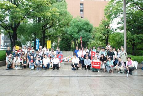 広島市役所で自治体職員慰霊